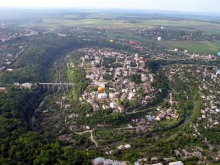 7 чудес Кам'янця-Подільського. Каньйон річки Смотрич