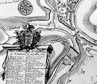 План Кам'янця-Подільського 1713 року
