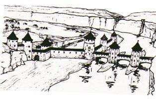 Руська брама з баштами та укріпленнями 15-18 ст.