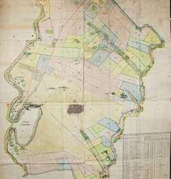 План передмість Кам'янця-Подільського. 1821 рік.