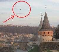 Мазур О.О.  зафіксував НЛО в Кам'янці!!!