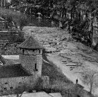 Паводок на річці Смотрич 1960роки