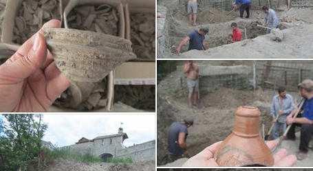 В Кам'янці знову глечики, схрони та горни