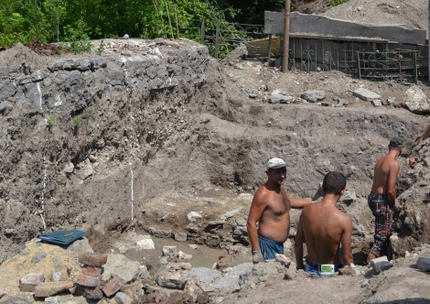 У Кам'янці знайшли турецьку вежу