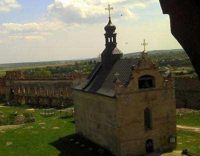 Легенда про замкову Покровську церкву