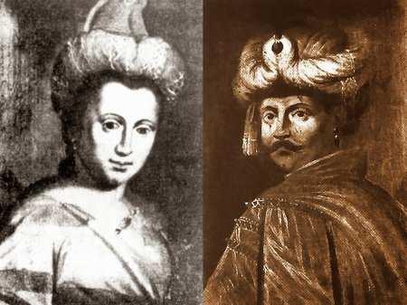 Юрась та його дружина Розанда