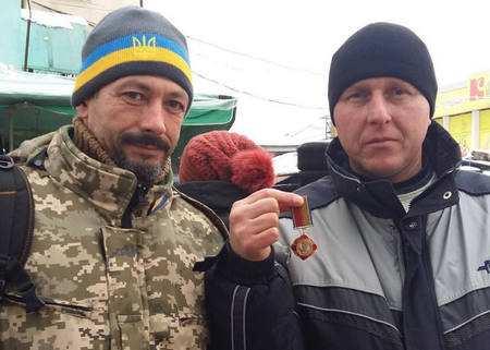 Боришкевича нагородили за оборонну Щастя