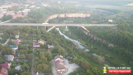 Політ під мостом на повітряній кулі