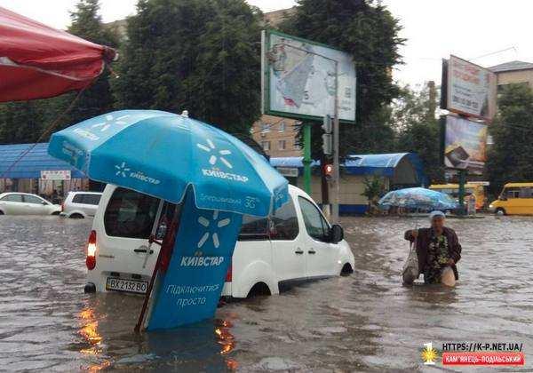 Потоп на базарі