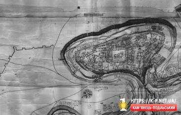План Кам'янця 1773 року