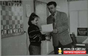 Віта Рудик - перша чемпіонка області з шахів
