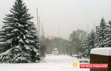 Танк під снігом