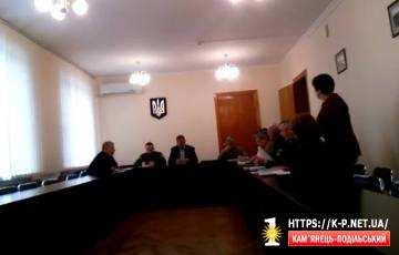 В Кам'янці-Подільському комісії відмовляються працювати відкрито