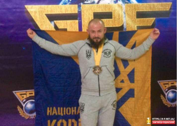 Роман Медведчук взяв золото з  ПАУЕРЛІФТИНГУ