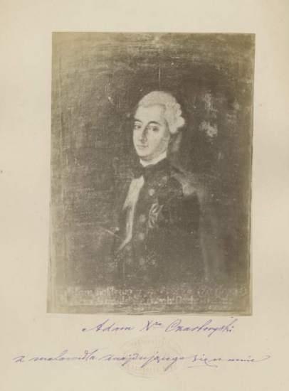 Портрет Адама Чарторийского. Фото Михаіл Грейм. 1879 год.