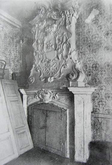 камін в Палаці Чарторийського