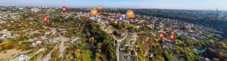 панорама на Камянець-Подільський